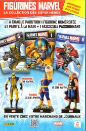 Verso de Avengers (Marvel France - 2017) -10- Sacrifices