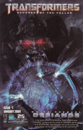 Verso de Doctor Who: The Forgotten (2008) -6- Issue 6 of 6
