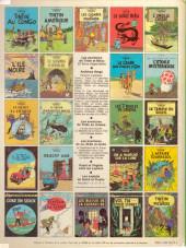 Verso de Tintin (Historique) -17C4- On a marché sur la lune