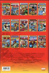 Verso de Iron Man (L'intégrale) -9- 1974 - 1975