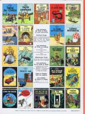 Verso de Tintin (Historique) -2C2- Tintin au Congo