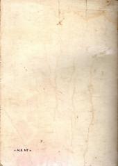 Verso de Tex-Tone -Rec25- Collection reliée N°25 (du n°193 au n°200)