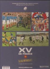 Verso de XV de France - Tome 1