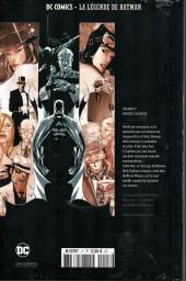 Verso de DC Comics - La légende de Batman -17- Private casebook