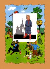 Verso de Tintin - Pastiches, parodies & pirates -4c- Les aventures de Tintin au pays des soviets