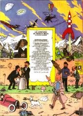Verso de Tintin - Pastiches, parodies & pirates -19b2005- L'alph-art