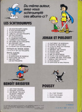 Verso de Les schtroumpfs -6b79- Le cosmoschtroumpf