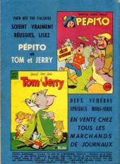Verso de Pepito (1re Série - SAGE) -45- Le trésor du château branlant