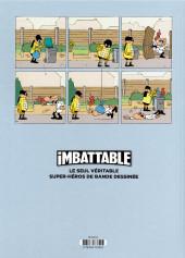 Verso de Imbattable -2TL- Super-héros de proximité