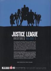 Verso de Justice League Aventures -3- Volume 3