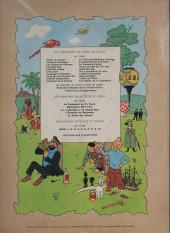 Verso de Tintin (Historique) -12B36'- Le trésor de rackham le rouge