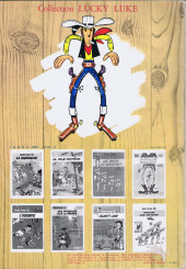 Verso de Lucky Luke -19b1982- Les rivaux de Painful Gulch