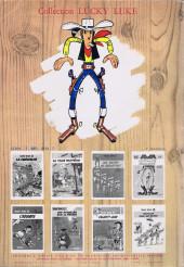 Verso de Lucky Luke -15b1973- L'évasion des Dalton