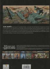 Verso de Ils ont fait l'Histoire -4FL- Jaurès