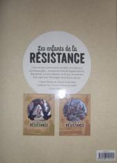 Verso de Les enfants de la Résistance -INT1- Intégrale 1- Tomes 1 et 2