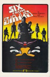 Verso de Dreadstar (1982) -12- Slasher!