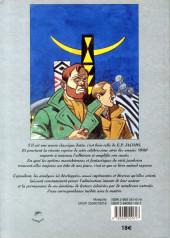 Verso de (AUT) Jacobs, Edgar P. -13- Jacobs, la marque du fantastique