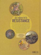 Verso de Les enfants de la Résistance -2a18- Premières répressions