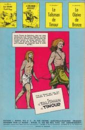 Verso de Les timour -2- La colonne ardente