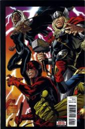 Verso de Marvel Legacy (2017) -1- Issue #1
