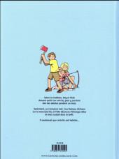 Verso de Stig & Tilde -1- L'île du disparu