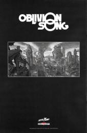 Verso de Oblivion Song -1HC- Chapitre premier