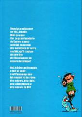 Verso de Gaston (Hors-série) - Gaston, le gaffeur qui avait du nez
