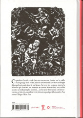 Verso de (AUT) David B. - Les poissons morts