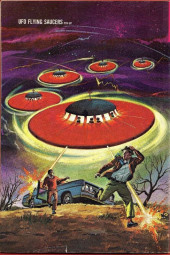 Verso de UFO Flying Saucers (Gold Key - 1968) -1-