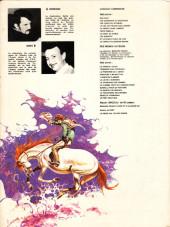 Verso de Comanche -2c1983- Les guerriers du désespoir