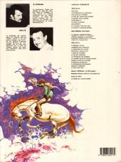 Verso de Comanche -3d1983b- Les loups du Wyoming