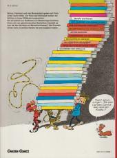 Verso de Spirou und Fantasio  -9- Goldminen und gorillas