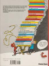 Verso de Spirou und Fantasio  -6- Der doppelte fantasio