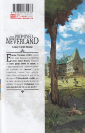 Verso de Promised Neverland (The) -1- Grace Field House
