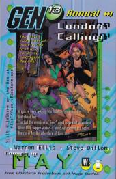 Verso de Gen13 Bootleg (1996) -6- Timesick part 2
