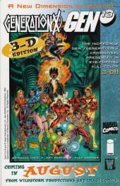 Verso de Gen13 Bootleg (1996) -9- All exploitation issue!