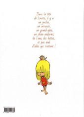 Verso de Linette (Romat - Peyraud) - Les pieds qui poussent