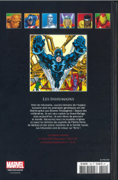 Verso de Marvel Comics - La collection (Hachette) -109IX- Les Inhumains