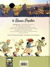 Verso de Le réseau Papillon -2- Paris étudiant, Paris résistant