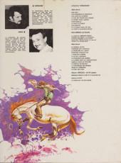 Verso de Comanche -8a1982- Les shériffs