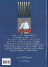 Verso de Luka -4- Vies gâchées, vies perdues