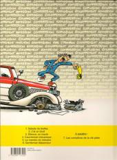 Verso de Garage Isidore -3a2000- Silence, on tracte