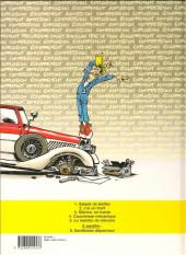Verso de Garage Isidore -4a1997- Cauchemar mécanique