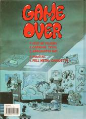Verso de Kid Paddle -1a1998- Jeux de vilains