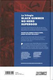 Verso de La trilogie Black Summer No Hero Supergod - La Trilogie Black Summer No Hero Supergod