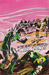 Verso de Green Lantern/ Green Arrow (1983) -1- No evil shall escape my sight!/ Journey to desolation!