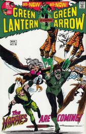 Verso de Green Lantern/ Green Arrow (1983) -4- How do you fight a nightmare?/ ...and a child shall destroy them...