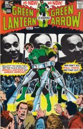 Verso de Green Lantern/ Green Arrow (1983) -5- Peril in plastic/ Snowbirds don't fly
