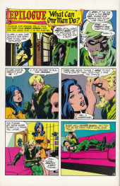 Verso de Green Lantern/ Green Arrow (1983) -6- They say it'll kill me but they won't say when/ Earthquake beware my power