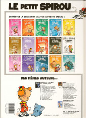 Verso de Le petit Spirou -10c2012- Tu comprendras quand tu s'ras grand !